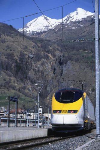 Eurostar Train in Bourg-St-Maurice