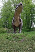 T-Rex in the Dino Zoo and Prehistoric Park