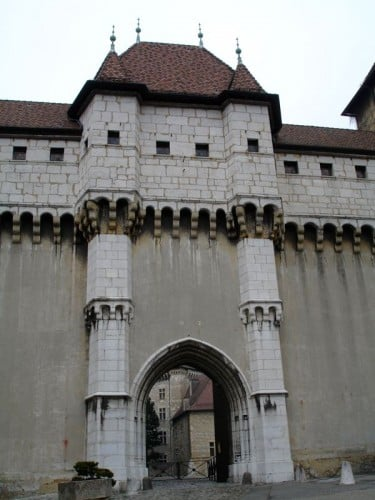 Main Entrance of Chateau d'Annecy