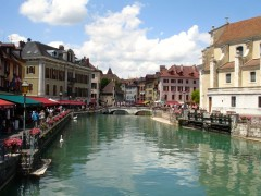 Transportation to Annecy in Haute Savoie, France