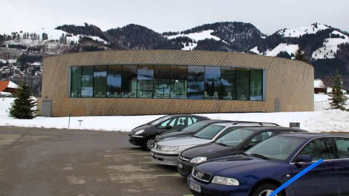 Bains de la Gruyère with free parking
