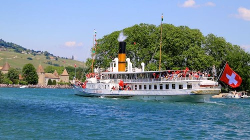 Savings Tickets for CGN Lake Geneva Boat Cruises