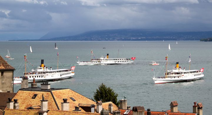 La Suisse, Rhone, Savoie Steamboats