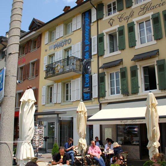 Swiss Camera Museum on Grand Place in Vevey