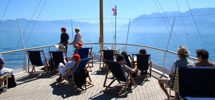 Upper Deck of La Suisse