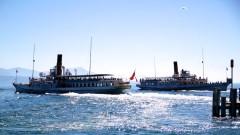 Passenger Boat Cruises Between Geneva and Lausanne