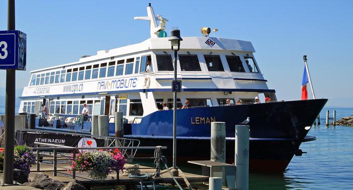Leman Ferryboat in Lausanne