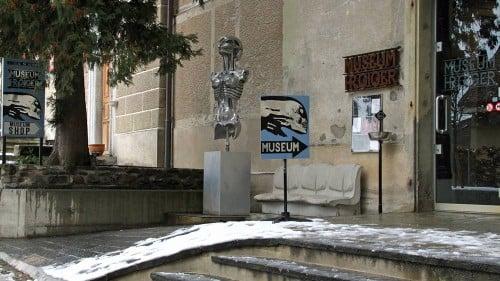 HR Giger Museum in Gruyères