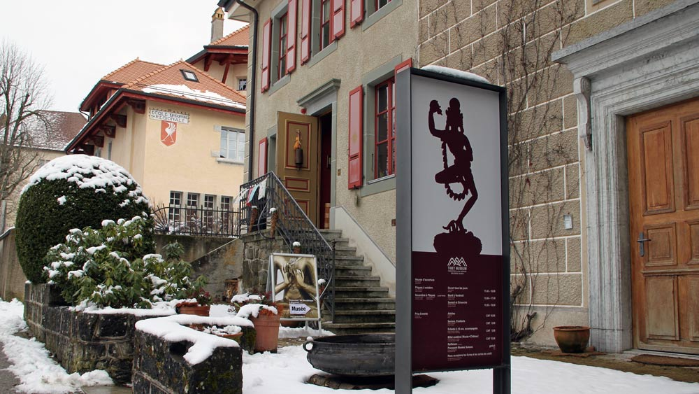Tibet Museum in Gruyères Exterior