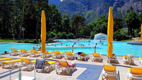 Enjoy the Bains de Lavey Hot Water Day Spa near Lake Geneva