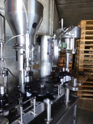 Modern Wine production technology