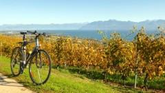 Cycling in La Côte on Lake Geneva