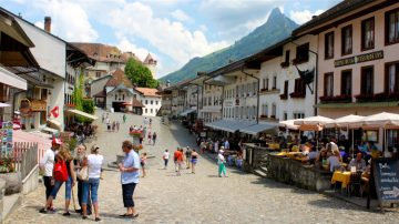 Gruyeres Old Town