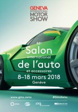 Geneva Auto Salon 2018 Poster