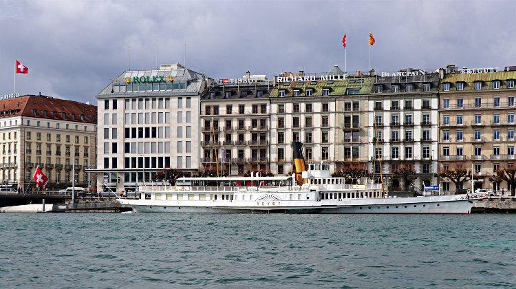 Winter Cruises on Lake Geneva Boats, Switzerland