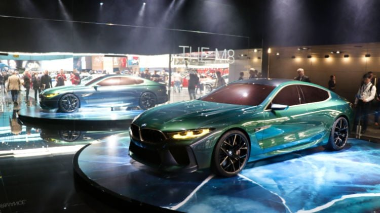 BMW M8 at the Geneva Auto Salon