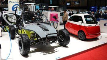 Geneva Auto Show cars