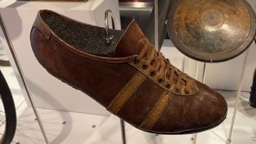 Jesse Owens Shoes in the Olympic Museum