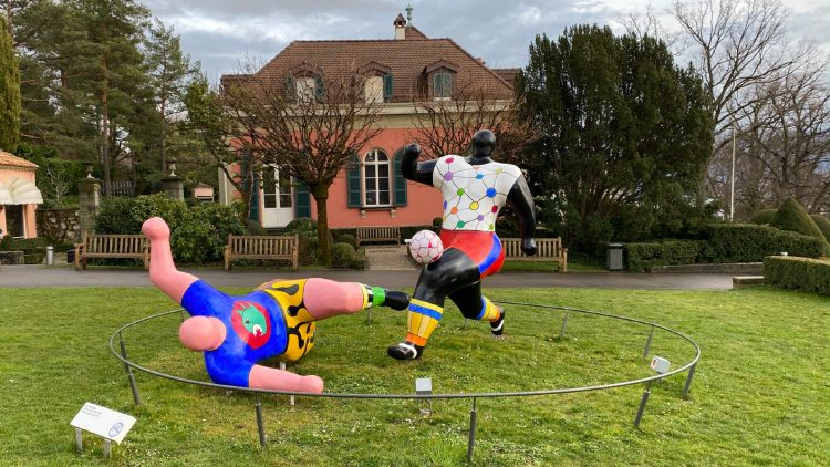 Niki de Saint-Phalle Les Footballers