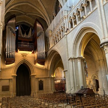 Fisk Pipe Organ in Lausanne Cathedral