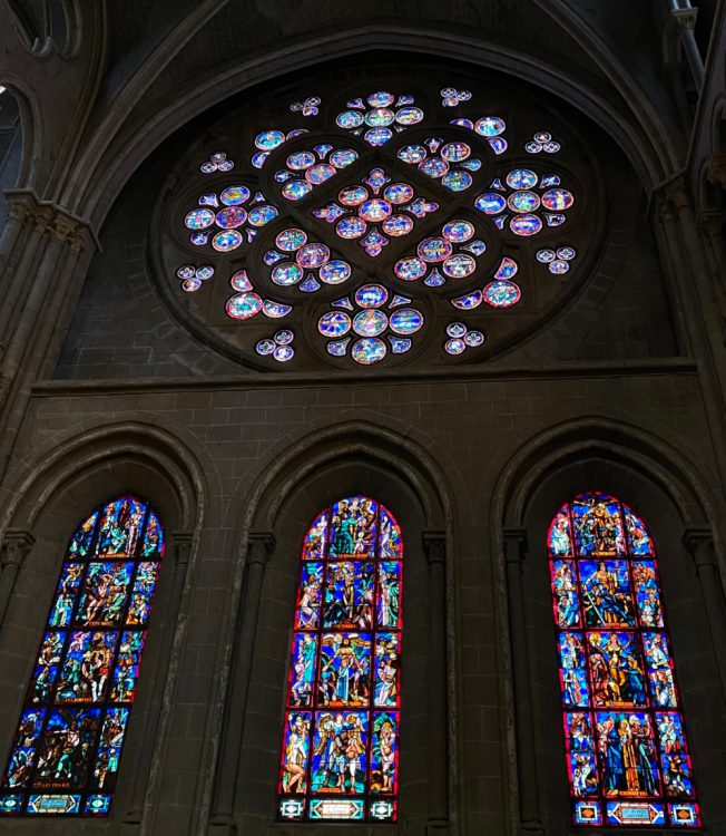 Rose Window of Lausanne Cathedral