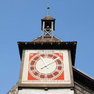 Clock Tower of St Prex