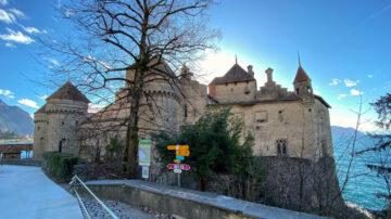 Château de Chillon Castle in Switzerland