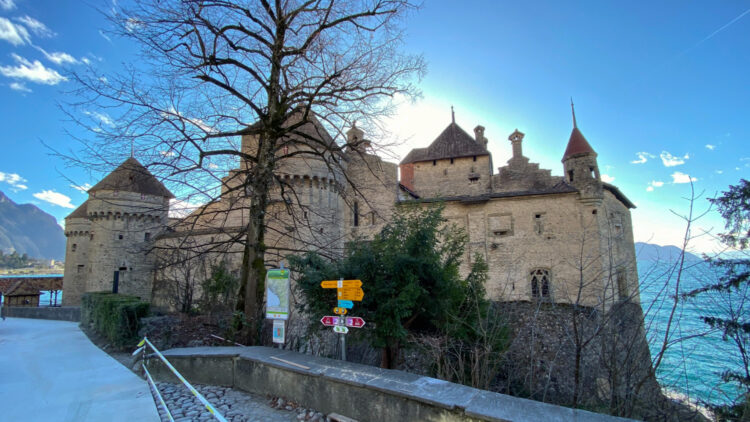 Château de Chillon Castle in Switzerland