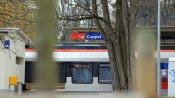 Coppet Train Station, Switzerland