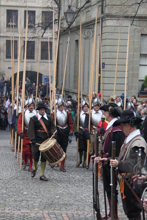 Escalade Festival in Geneva, Switzerland