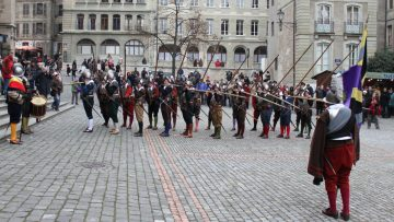 Escalade Festival in Geneva, Switzerland