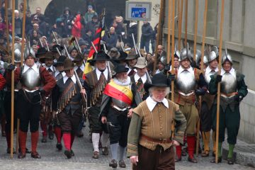 Troops Escalade Festival in Geneva, Switzerland