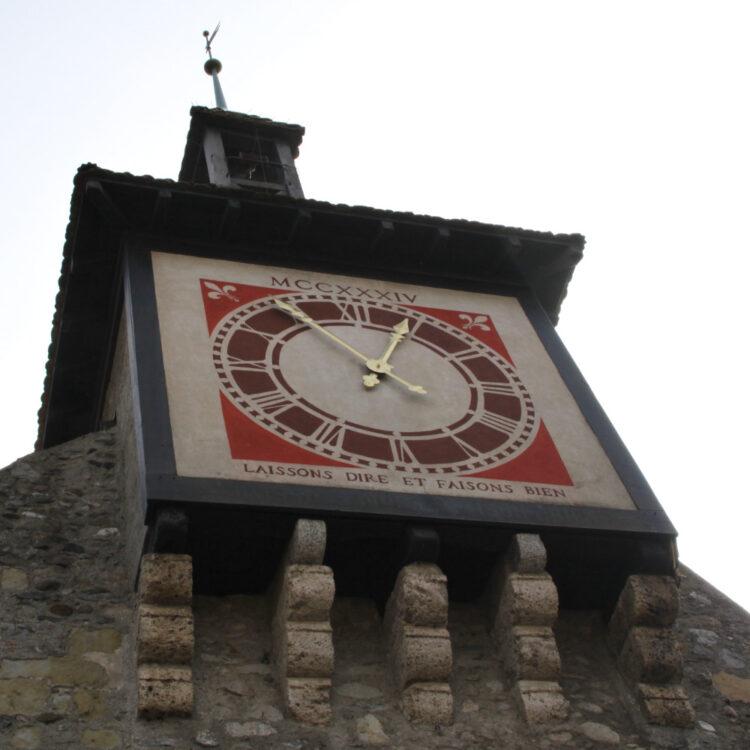 St Prex Clock Face