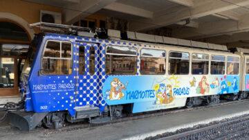 Train to Rocher De Naye