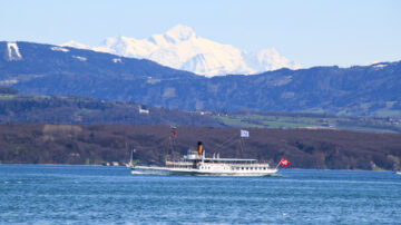 Savoie Off Nyon and Mt Blanc