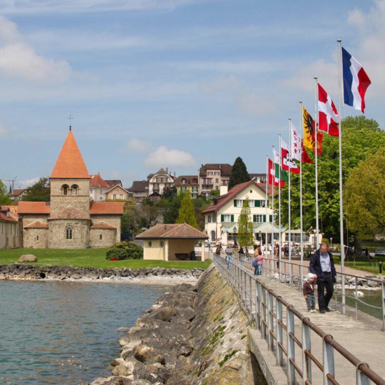 St Sulpice on Lake Geneva