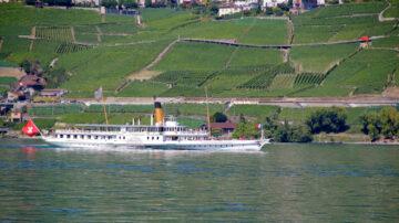 SS Montreux off Lavaux