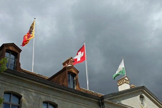 Visit the Swiss National Museum in Chateau de Prangins on Lake Geneva near Nyon