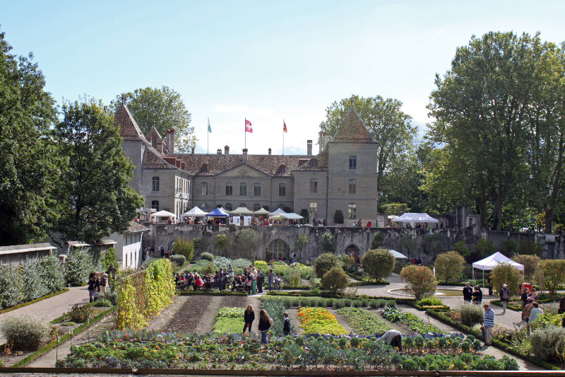 Swiss National Museum in Chateau de Prangins